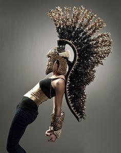 i WILL make this headgear!!  dragspirations