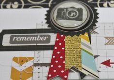 silhouette cameo scrapbook layouts | Live The Moment: Ready to Go...