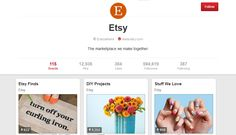 Top 10 Ecommerce Brands On Pinterest Pinterest is becoming a popular way for small businesses to promote their brands and get their names out there. But using Pinterest to successfully market your business by drumming up interest in repining your content isn't as easy as it looks. http://metakave.com/top-10-ecommerce-brands-on-pinterest/
