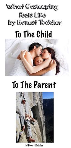 Co-sleeping humor