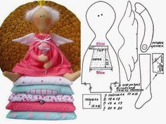 "Many patterns of toys and dolls: Diary of the ""Tilda dolls and other toys primitive"": Groups - female social network myJulia. Doll Crafts, Sewing Crafts, Sewing Projects, Doll Clothes Patterns, Doll Patterns, Doll Toys, Baby Dolls, Tilda Toy, Sewing Dolls"
