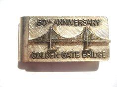 Money Clip 1987 Golden Gate Bridge 50th Anniversary  #betterwythage #goldengatebridge #moneyclip