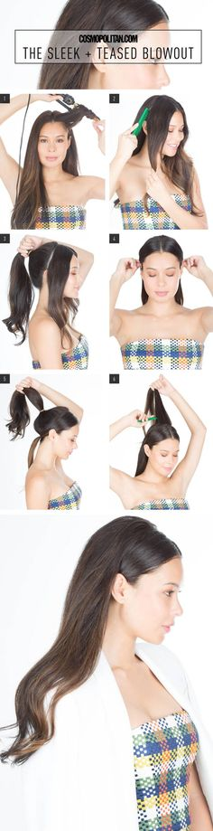 I do this all the time with my hair. Great way to wear it down without it getting in my eyes and it stays in place
