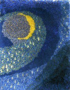 Rya Rug, Wool Rug, Rugs, Painting, Fiber, Design, Diy, Farmhouse Rugs, Bricolage
