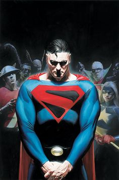 Few comic book artists are as influential as Alex Ross, who not only created concept art for the first two Spider-Man films, but also reimagined Superman for a new generation. Comic Book Artists, Comic Book Characters, Comic Book Heroes, Comic Artist, Comic Character, Comic Books Art, Superhero Characters, Arte Dc Comics, Clark Kent