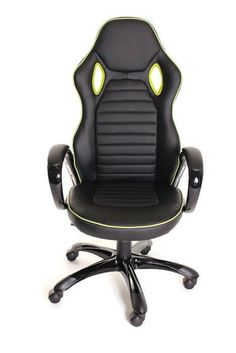 Race Car Style Office Chair Gaming Ergonomic Leather Chair by TimeOffice  sc 1 st  Pinterest & 1425 best Healthy ergonomic habits images on Pinterest | Office desk ...