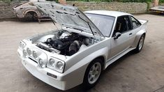 Opel Manta 400 with a Inline-Six Engine Swap, Inline, Engineering, Vehicles, Car, Opel Manta, Automobile, Rolling Stock, Mechanical Engineering
