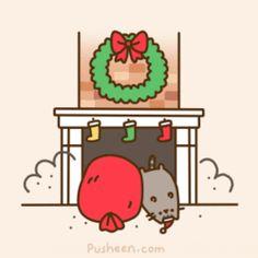 Pusheen Cat Christmas To Do List | Pusheen The Cat Art | Pinterest ...