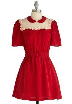b3c0fbb7f1 Memorable Moments Dress | Mod Retro Vintage Dresses | ModCloth.com Aranyos  Ruhák, Outfit