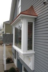 Home improvement with bay windows window degree angle for Box bay window kitchen