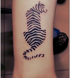 tiger stripe tattoo on pinterest white tiger tattoo tiger tattoo and egyptian cat tattoos. Black Bedroom Furniture Sets. Home Design Ideas