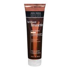 JOHN FRIEDA Shine Release Daily Conditioner All Shades Acondicionador de uso diario para cabellos castaños naturales o tratados. Diseñado con tecnología de enriquecimiento de color y aceite de almendras, que aporta brillo y suavidad al cabello.