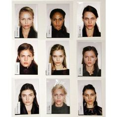 Image about girl in 𝐋𝐎𝐒𝐓 by 𝐟𝐢𝐳 on We Heart It Barbara Palvin, Passport Pictures, We Heart It, Model Polaroids, Models Backstage, Natasha Poly, Joan Smalls, Mug Shots, Pretty People
