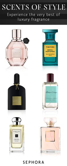 Find your favorite perfume or accentuate your style with a new scent from Sephora.