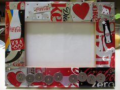 ENJOY LIFE. CocaCola Diet Coke Handcrafted tile by SmithMosaics, $46.00