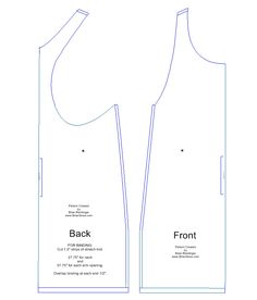 BrianSews!: How To: Y Back Racer Tank Top