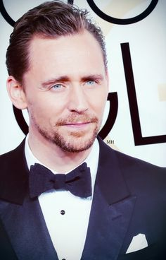 Tom Hiddleston at the 74th Annual Golden Globe Awards 2017. Edit by Mangus-hiddleston