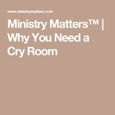 MinistryMatters™ provides this resource of Church Evangelism & Growth, Hospitality as well as Mission & Service articles to help your resource your church leadership's local-market strategy. Parents Room, Sermon Series, D Day, Sabbath, Small Groups, Sunday School, Ministry, Crying, Chronic Pain