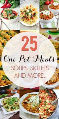 Penney Lane Kitchen: 25 One Pot Meals
