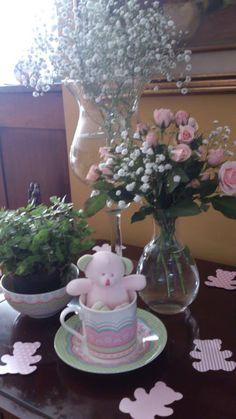 chá de bebê ursinha