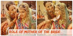 Role of Bride's Mother on the Wedding  A mother is someone for whom enough is never done.