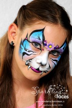 Face paint collection Face painting Jacobean Style Antique Furniture Jacobean is a term used to cove Face Painting Images, Animal Face Paintings, Face Painting Designs, Animal Faces, Butterfly Face Paint, Butterfly Painting, Painting Tattoo, Body Painting, Tiger Face Paints