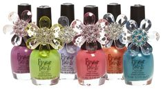 Finger Paints Nail Polish - this is one of the very few brands of nail polish I can wear that doesn't damage my nails. Can be purchased at Sally Beauty Supply.