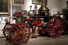 New York City Fire Museum - Children's Museums - Don't miss the chance to visit one of the nation's most prominent collections of fire related art at New York City Fire Museum