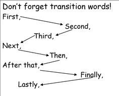 ... | Sequence of events, Transition words and Sequencing worksheets