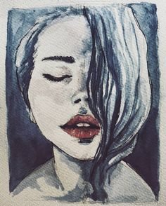 I know better Cause you said forever  #art #watercolor #thoughts #whoknew