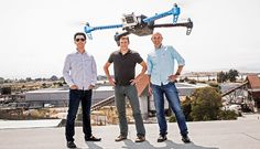 Dudes With Drones - Meet the inventors, tinkerers, and entrepreneurs at the forefront of the flying-robot revolution.