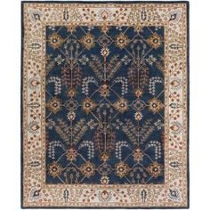 Artistic Weavers Middleton Kelly Navy Blue 9 ft. x 13 ft. Indoor Area Rug AWMD2241-913 at The Home Depot - Mobile