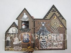 architectural altered book