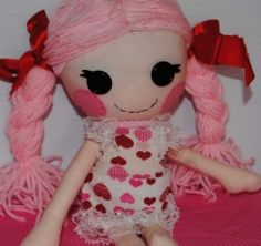 Nothing says 'I Love You' more than a gift that is handmade. Dolls - in particular hand made dolls, are an art form and a personal expression...