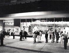 Playhouse on the Mall at The Bergen Mall, Paramus - I was assistant house manager summer/fall of 1966 Rare Photos, Old Photos, Garden State Plaza, Bergen County New Jersey, Mall Stores, Essex County, History Facts, The Good Old Days, Play Houses
