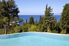 Iremia - romantic hideaway villa with pool on Antipaxos