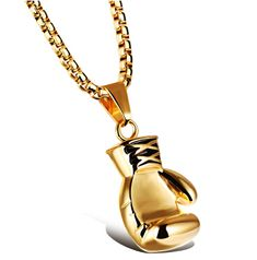 Gold/Black/Silver Plated Fashion Mini Boxing Glove Necklace Boxing Jewelry Stainless Steel Cool Pendant For Men Boys Gift Like and share! Visit our store Necklace Types, Men Necklace, Jewelry Necklaces, Pendant Necklace, Stylish Jewelry, Fashion Jewelry, Gold Boxing Gloves, Diamond Shop, Chain Pendants