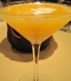 Halloween Cocktails: M & M Candy Corn Martini - A Little Bite of Life