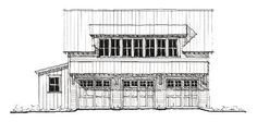 Historic Garage Plan 73781