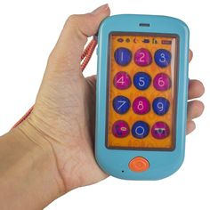 It is time for your child to have her/his own cell phone with realistic smartphone features. Manufactured by B.. Recommended for 12 to 24 months, 2 years, 3 years, 4 years.