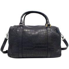 Balmain Black Crocodile Skin Tote Bag ($4,500) ❤ liked on Polyvore featuring bags, handbags, tote bags, balmain handbags, balmain purse, crocodile skin handbag, tote handbags and tote bag purse