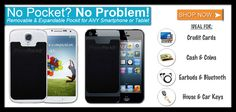 PhonePockIt #GIVEAWAY (3) three winners! #Hurry ends 9/28 http://serenitysixx.blogspot.com/2014/09/phonepockit-giveaway.html