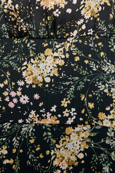 PRINTED MIDI DRESS - DRESSES   JUMPSUITS-WOMAN   ZARA United Kingdom Vintage Flower Prints, Vintage Flowers, Vintage Floral, Floral Prints, Motif Floral, Ditsy Floral, Unique Flowers, Small Flowers, Flower Patterns