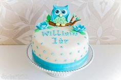 Uggletårta owlcake uggla tårta sockerlinn.se ⭐