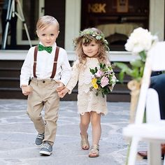 The cutest flowergirl and ring bearer Follow @WeddingForward for the prettiest wedding inspiration ... . . Flower girl with ring bearer Photo by @kortneekate . . #weddingforward #wedding #weddings #bride #bridetobe #weddingday #свадьба #xoxo #weddingphotography #casamento #bridesmaids #weddinginspiration #instawedding #weddingparty #weddingideas #weddingplanning #weddingphoto #weddingtime #instabride #gettingmarried #weddingblog #dreamwedding #weddingphotographer #finerartwedding…