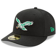c2b51606086 Philadelphia Eagles New Era Omaha Low Profile 59FIFTY Structured Hat -  Classic Black
