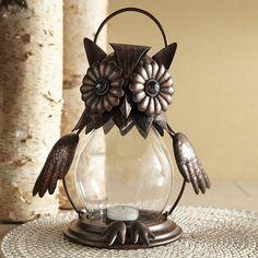 Owl Jewel Lantern