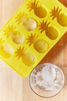Pineapple Ice Tray $14