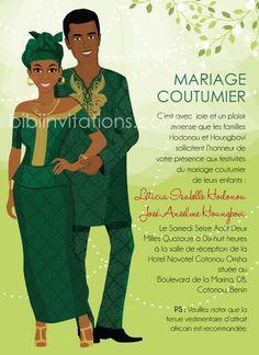 Carton d invitation Igbo Wedding, Ghana Wedding, Wedding Ceremony, Wedding Invitation Card Wording, Elegant Wedding Invitations, Invites, Wedding Prep, Wedding Tips, Wedding Cards