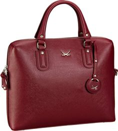 Sansibar Sansibar Chic Business Bag Merlot - Aktentasche